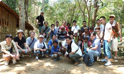 社員研修の一環としてのフィリピン現地視察旅行